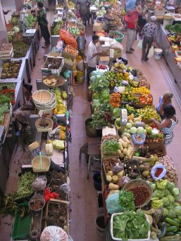 Market in Cape Verde