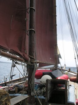 A rare event - sailing to windward