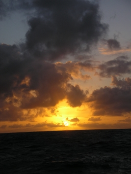Picture Marquesas Pacific sunset 3