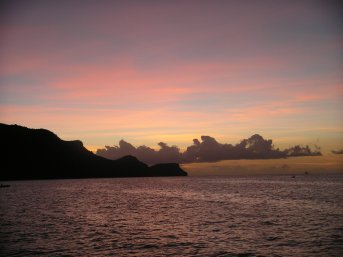 Picture Sunset Bequia1