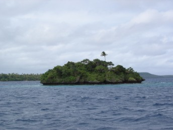 A typical small islet in the Vava'u group