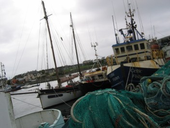 Dingle fishing harbour