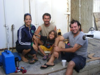 Charlie, Nathalie, Keenan and South African Guy