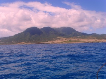 View to Nevis