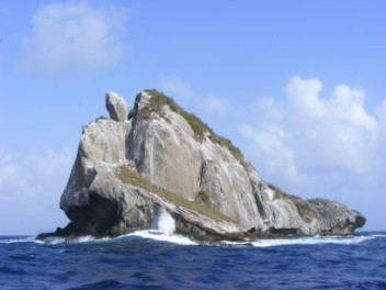 Sail Rock, St Vincent Grenadines