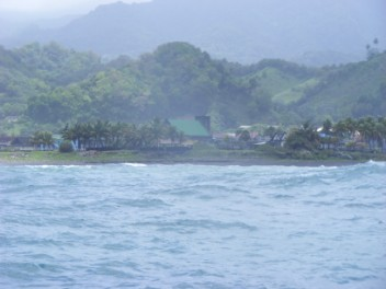 East coast of St Vincent