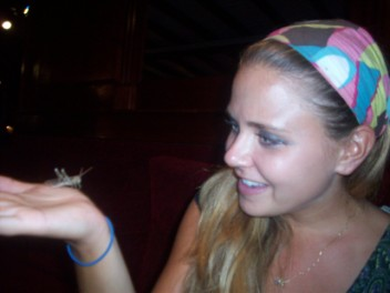 megan and her cricket