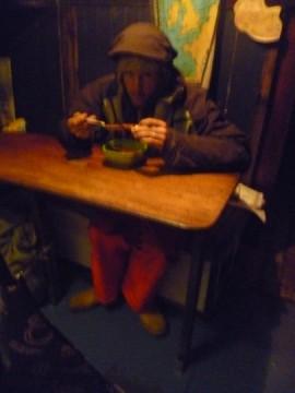 slightly bedraggled we cherish hot drinks