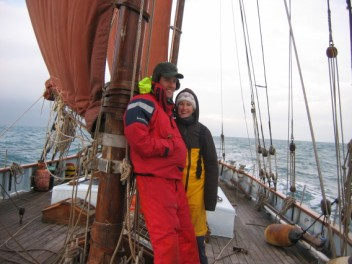 Jake and Martha aboard Lista